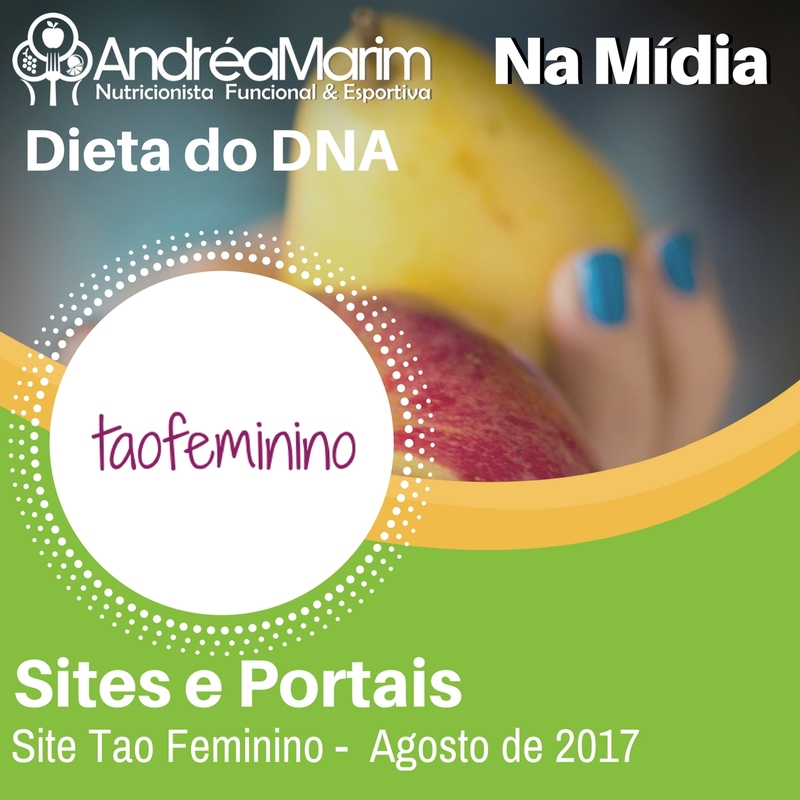 Site Tao Feminino-Dieta do DNA
