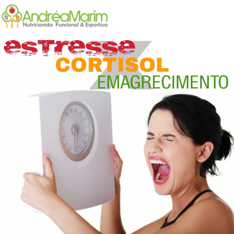 Stress x Cortisol x Emagrecimento-