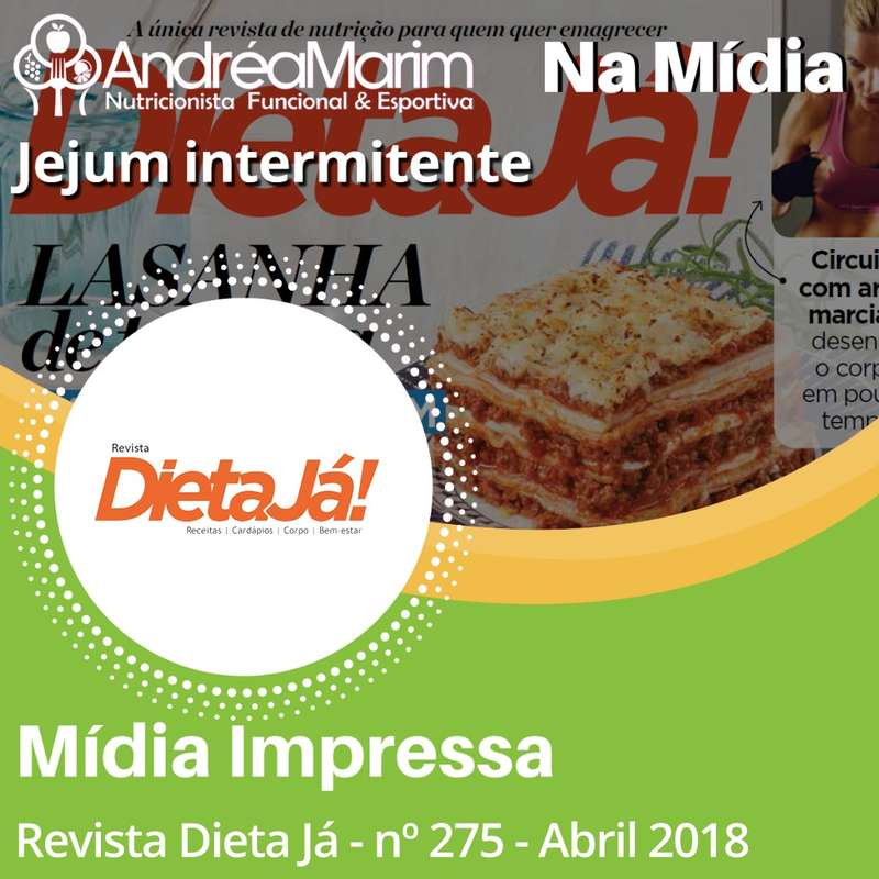 Revista Dieta Já-Jejum Intermitente