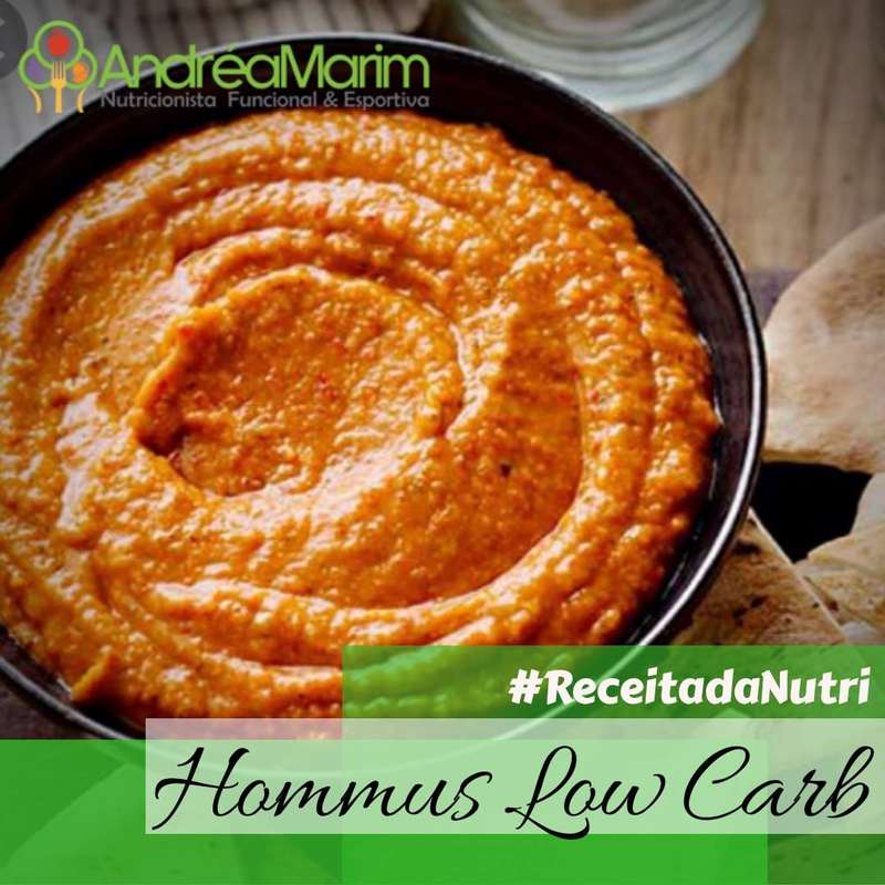 Hommus low carb-