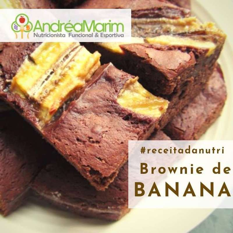 Brownie de Banana especial-