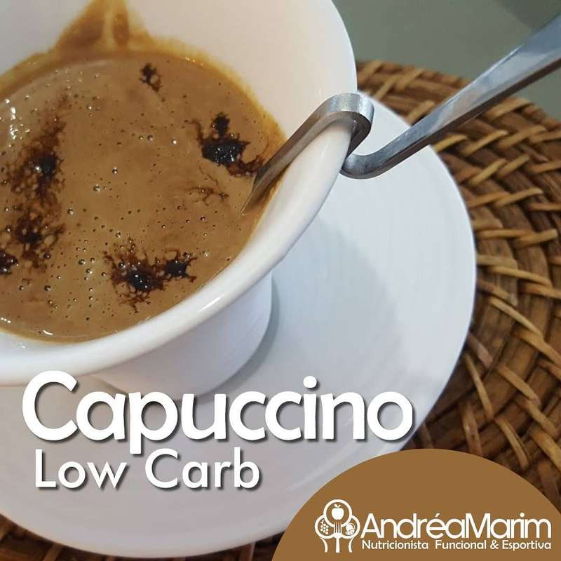 Capuccino low carb-