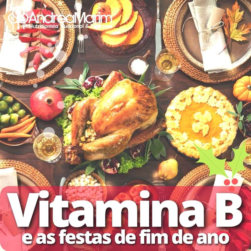 Vitamina B-e as festas de fim de ano